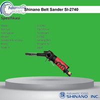 Shinano SI-2740 Air Belt Sander /Mesin Amplas