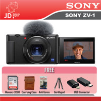 SONY ZV-1 Digital Compact Camera / Sony ZV1 Vlog 4K Video - ZV-1 PAKET