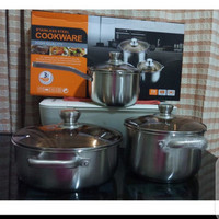 Micoe Panci 3 set panci masak stainless steel super