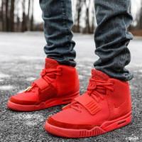 Sepatu Nike Air Jordan Yeezy 2 Red