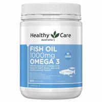 Omega 3 Fish Oil 1000mg Healthy Care 400 kapsul