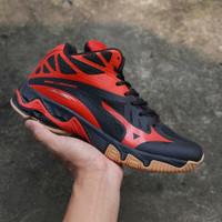 Sepatu Volly Mizuno Wave Lightning Premium Original + Free Kaos Kaki
