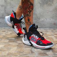 Sepatu Basket Nike Jordan Why Not Zero 2 Red Orbit Premium Original