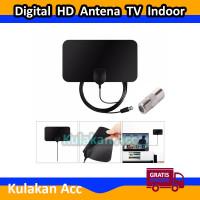 Antena TV Indoor DVB-T2 Digital HD Antena TV High Gain 25DB 4K