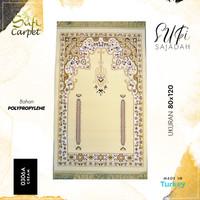 Sajadah Turki Imam 80x120 Sufi 0306A - Putih