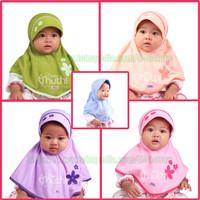 Jilbab/hijab/kerudung bayi/anak usia 6 bln - 2 Thn Vania Muthi Baby
