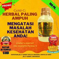 Jelly Gamat Gold G Bio Sea Cucumber 100ml Obat Asam Lambung Nyeri Otot