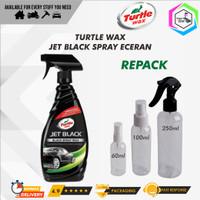Turtle Wax JET BLACK SPRAY WAX KEMASAN ECER / REPACK