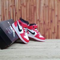 Sepatu Anak Nike Air Jordan Hi Chicago Red White Grade Original