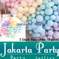 Balon Latex Macaron 5inch / Balon Pastel / Balon Latex Macaron