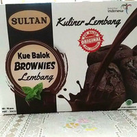 kue balok brownies SULTAN