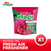 Bagus FRESH Air Freshener Pouch 50 g - Red Peony