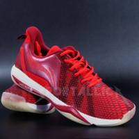 Sepatu Badminton Li-Ning / LiNing AYZQ003 Storm II Dark Red - 7