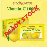 VITAMIN C 1000 mg SIDO MUNCUL ISI 6 - EKSTRAK LEMON