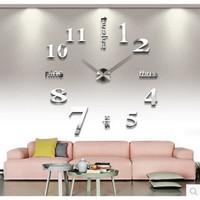 NEW MODEL JAM DINDING BESAR GIANT Wall Clock DIY 80-130cm