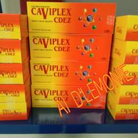CAVIPLEX CDEZ strip vitamin c 500mg vit d3 400iu vit e 10mg zinc 10