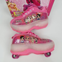Sepatu roda karakter anak/Laki-laki/perempuan