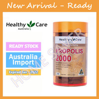Healthy Care Propolis 2000mg - 200caps Aussie Import Original