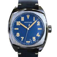 Jam Tangan Micro-Brand Venturo Field Watch #2 Blue 42mm NH35A