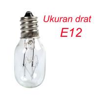 Bohlam Lampu Mesin Jahit Ukuran E12 Model Drat Ulir