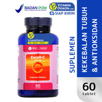 WELLNESS EXCELL C 500 MG 60 TAB