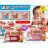 Mainan Cash Register dan Modern Fast Food No. LK21