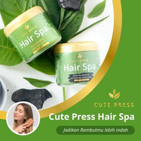 Cute Press Hair Spa 250gr / Smooth Keratin Activated Charcoal