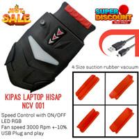 Cooling pad vacuum / kipas laptop vacuum / cooler fan vacuum ON / OFF