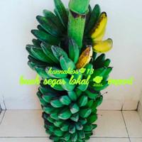 pisang kepok kuning 1 tandan - mentah