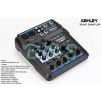 Mixer Audio Ashley Speed Up 4 (4Channel) USB,Bluetooth