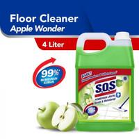 GOJEK - SOS Pembersih Lantai Anti Bacterial 4 Liter 4L - APEL