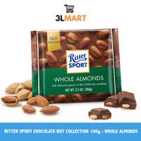 RITTER SPORT CHOCOLATE NUT COLLECTION 100GR - ALMOND HAZEL
