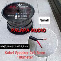KABEL SPEAKER CRIMSON 2x1,5 mm small (100m)