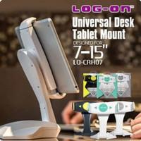 UNIVERSAL DESK HOLDER Tablet IPAD TAB MOUNT 7 - 15 inch Log On