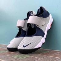 Sepatu Nike Air Rift Grey Navy Premium Original