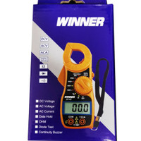 Digital Clamp Meter Tang Ampere merk WINNER DT-87 amper, meter