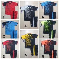 baju anak / junior olahraga kaos setelan futsal dan bola volly mizuno