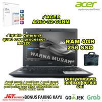 LAPTOP ACER A314-32-C0HM INTEL N4120 RAM 4GB SSD 256GB WIN OFFICE ORI