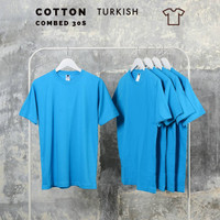Kaos polos pria, wanita size normal big size jumbo size Turkish