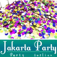 Confetti Mix Warna / Confetti Isi Balon / Bulat Bubble / Isi Confetti