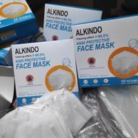 Masker KN95 PROTECTIVE 5 ply HARGA PER BOX ( 1box isi 10 masker)