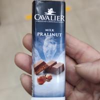 Cavalier Belgian Chocolatier Milk Pralinut Imported Sugar Free 42gram