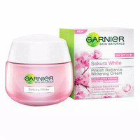 Garnier Sakura White Night Cream ~ Krim Malam (50 ml)
