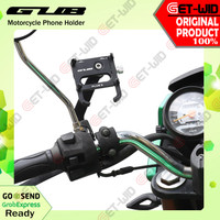 Holder HP Sepeda Motor GUB Plus 6 MD Motor Cycle