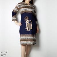 Nixiee Dress Jumbo - Dress Batik Jumbo Wanita Terusan Wanita