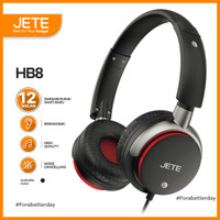 Headset   Headphone JETE HB8 Stereo Sound Full Bass - Garansi 1 Tahun