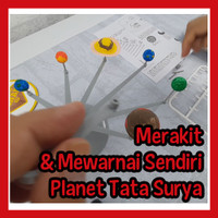 Mainan Anak Peraga Tata Surya, Planet - Solar System