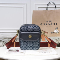 Coach Dylan 15 In Signature Chambray - ORIGINAL 100%