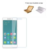 Xiaomi Redmi 3 Tempered Glass Screen Protector Anti Gores