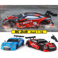RC Mobil Drift Car 4WD 2.4Ghz 1:16 Remote Control Model Balap Nismo